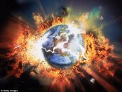 The world in a state of chaos - a few prayers and some positive thinking required.