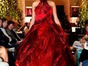 Spectacular gown by Irish fashion designer Geraldine Connon