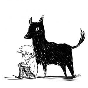 The black dog of despair