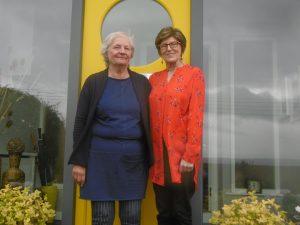 Pat McLaughlin and Kay Cullan members of the