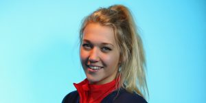STOCKPORT, ENGLAND - JANUARY 23: Rowan Cheshire of Team GB Freestyle Skiing poses for a portrait during the kitting out day at adidas on January 23, 2014 in Stockport, England. (Photo by Alex Livesey/Getty Images)