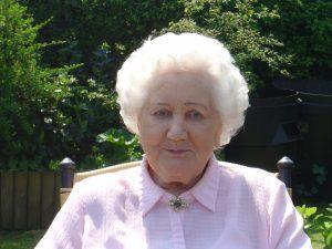 My mum, Maureen Alicia Edith Shaw nee de Winter