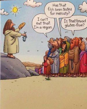 jesus vegan